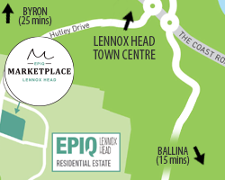 Epiq location map